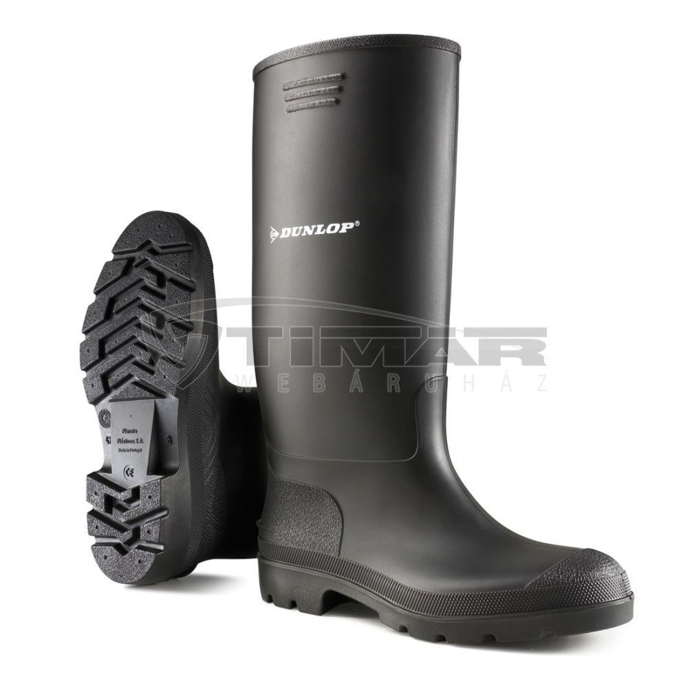 Dunlop Munkavédelmi Csizma fekete380PP N40. D95540