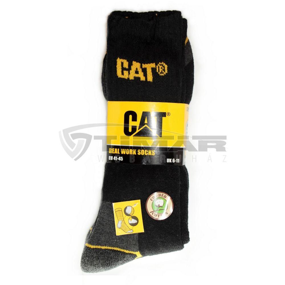 az egész család számára szépség új megjelenés CAT munkazokni fekete 41-45