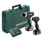 Metabo  BS12 PowerMaxx Set Akkus szett 12V  601036900