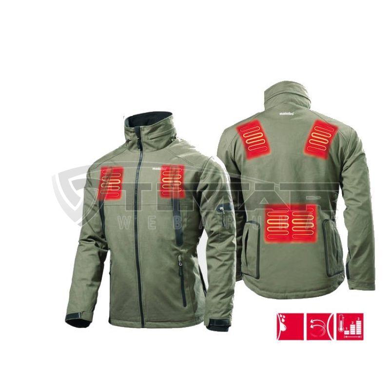 Metabo HJA 14,4-18 Fűthető kabát adapterrel - S (akku és töltő nélkül) 657014000
