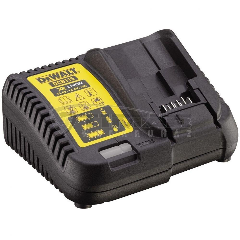 8173397e4210 DeWALT DCB115 Akkumulátor töltő 10.8V / 14,4V / 18V