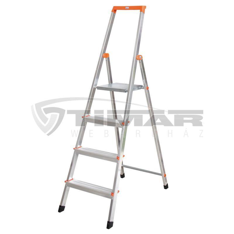 Krause Monto Solidy 126221 Lépcsőfokos állólétra 4 fokos